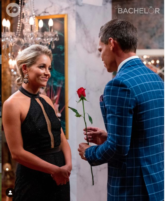Holly and Jimmy on The Bachelor