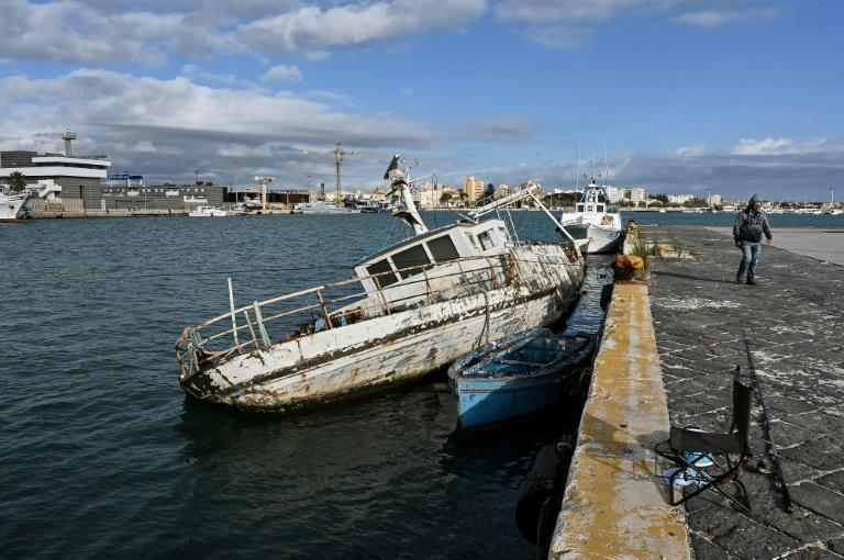 Unemployment is high in Mazara and the heyday of its fishing industry is long gone