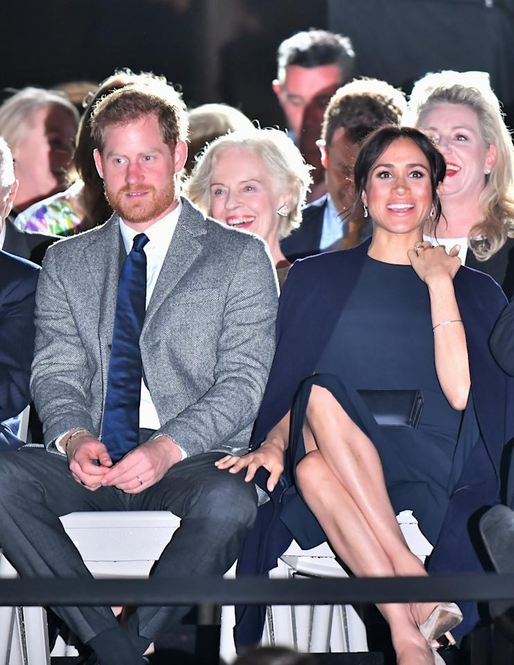 Meghan Markle and Prince Harry at the Invictus Games opening ceremony