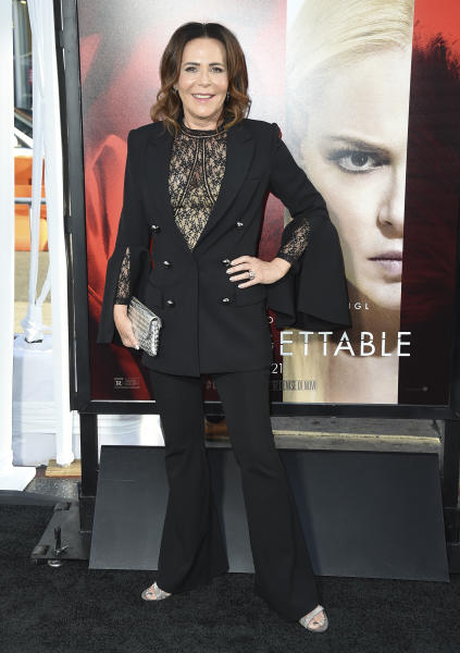 """Director Denise Di Novi arrives at the Los Angeles premiere of """"Unforgettable"""" at the TCL Chinese Theatre on Tuesday, April 18, 2017. (Photo by Jordan Strauss/Invision/AP)"""