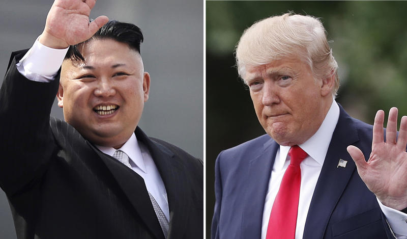 President Trump Warns North Korea's Kim Jong Un Will 'Regret It Fast' If Threats Continue
