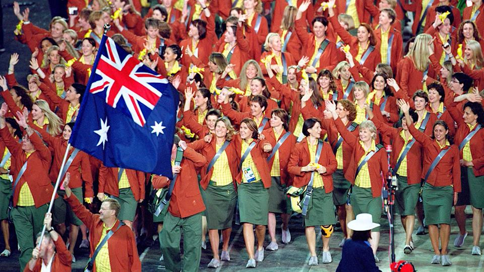 The Australian Olympic Team at the Sydney 2000 Olympic Games, Homebush