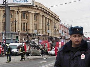 Explosion in Russland: Blutbad in der St. Petersburger U-Bahn