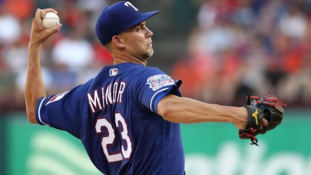 MLB trade rumors: Are the Yankees interested in Rangers starter Mike Minor?