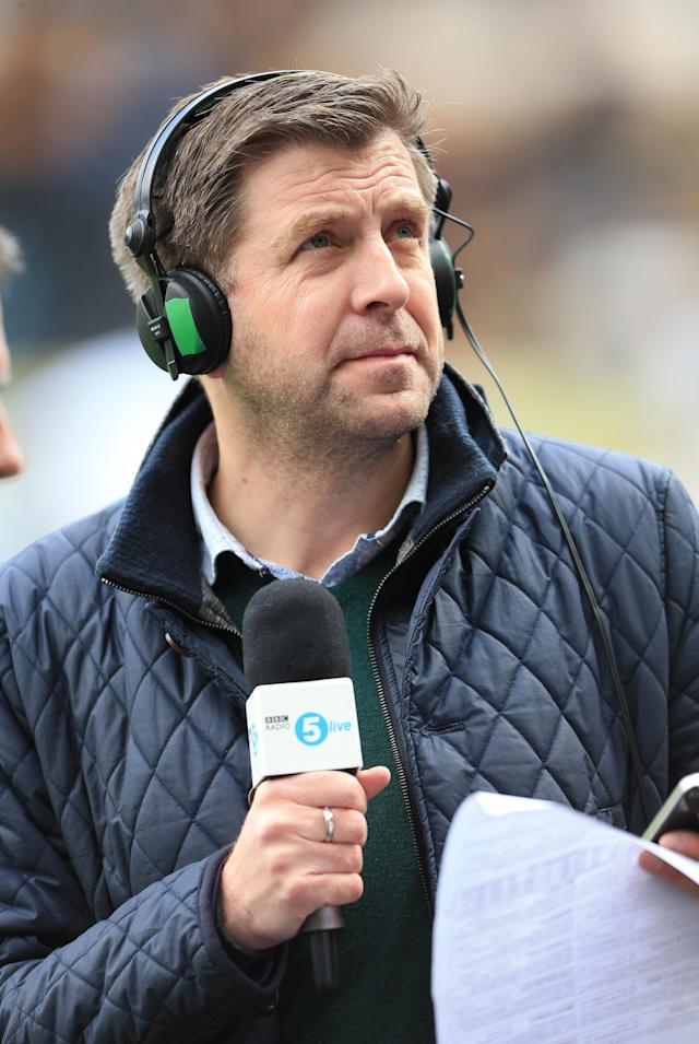 Radio 5 Live presenter Mark Chapman. (Mike Egerton/PA Images via Getty Images)