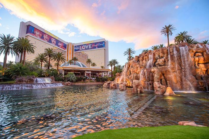 The Mirage casino resort on the Las Vegas Strip will reopen Aug. 27 after being shut for more than five months due to the coronavirus pandemic.