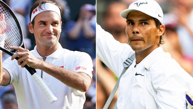 Roger Federer and Rafael Nadal will meet for the 40th time in their storied careers. Image: Getty