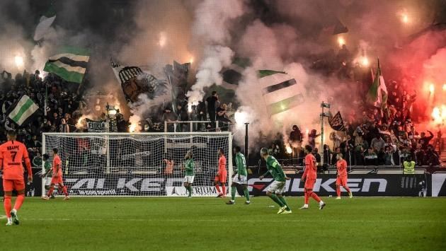 "Saint-Etienne ""déplore les incidents"" face au PSG"