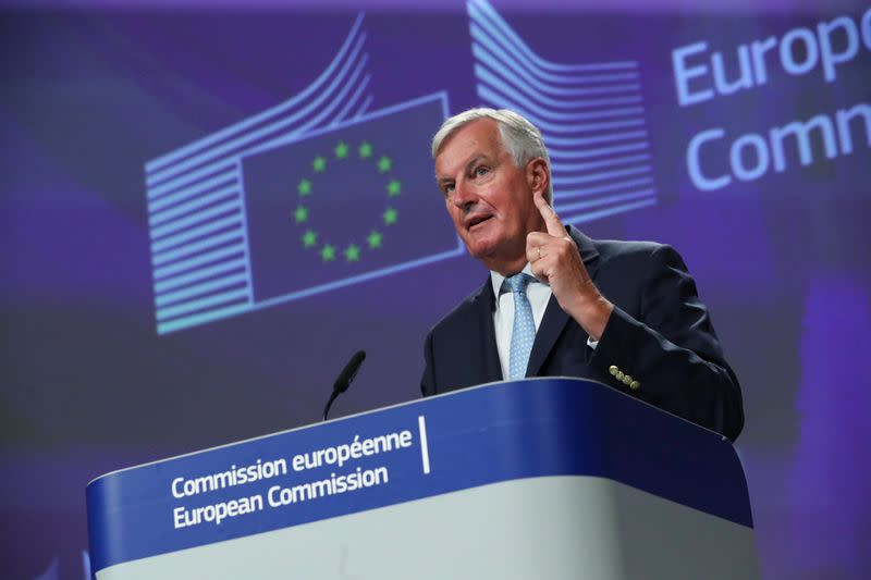 EU's Barnier to talk Brexit in London on Wednesday - BBC