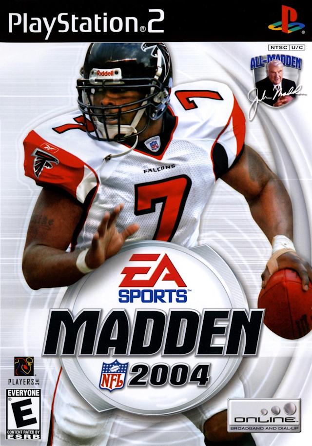 Madden 2004 cover (via EA Sports/Sony)