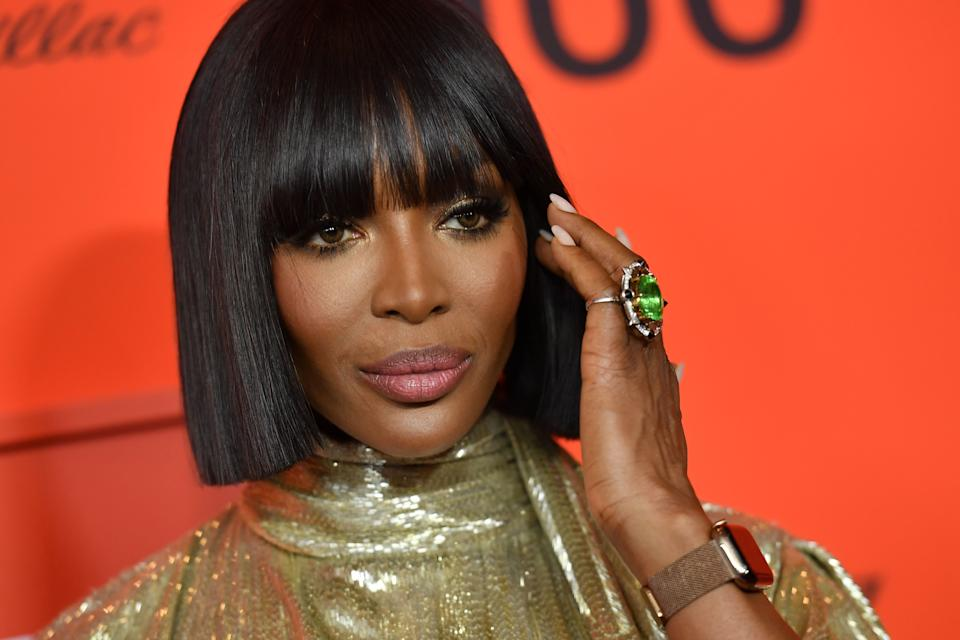 Naomi Campbell refused to answer a journalist's questions. (ANGELA  WEISS/AFP via Getty Images)