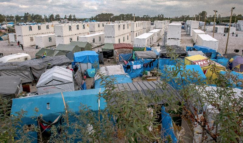 The Calais refugee camp has become a symbol of Europe's biggest migrant crisis since the World War II and a major source of Anglo-French tension (AFP Photo/Philippe Huguen)