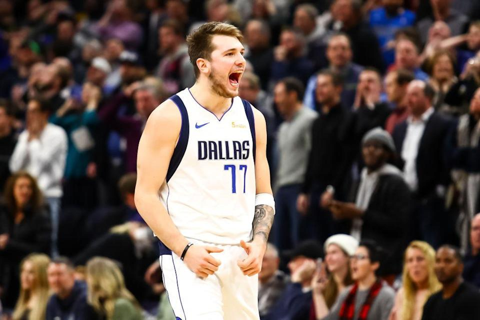 The Dallas Mavericks landed another European sensation with the draft-day trade for Luka Doncic. (Getty Images)