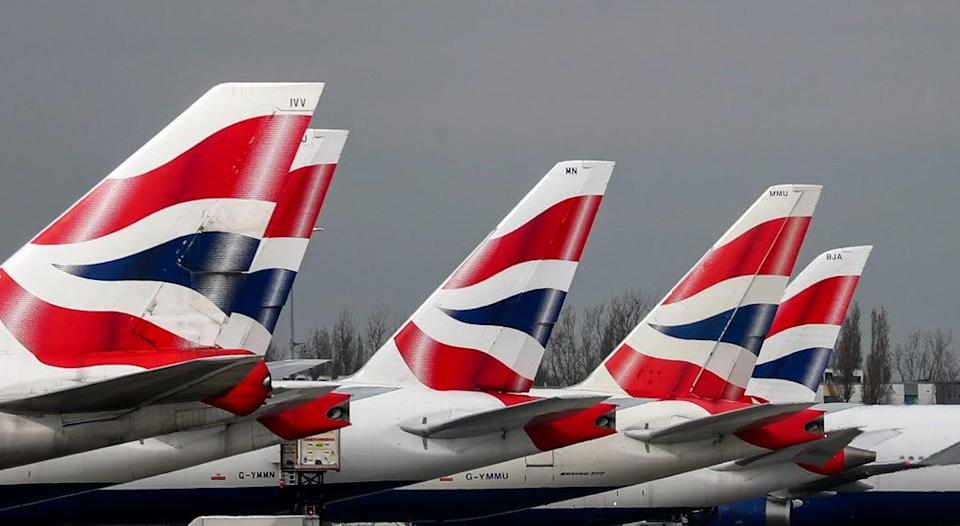 Airlines are experiencing a surge in demand for trips to the US after the White House confirmed it will scrap its ban on fully vaccinated UK travellers in November (Steve Parsons/PA) (PA Archive)
