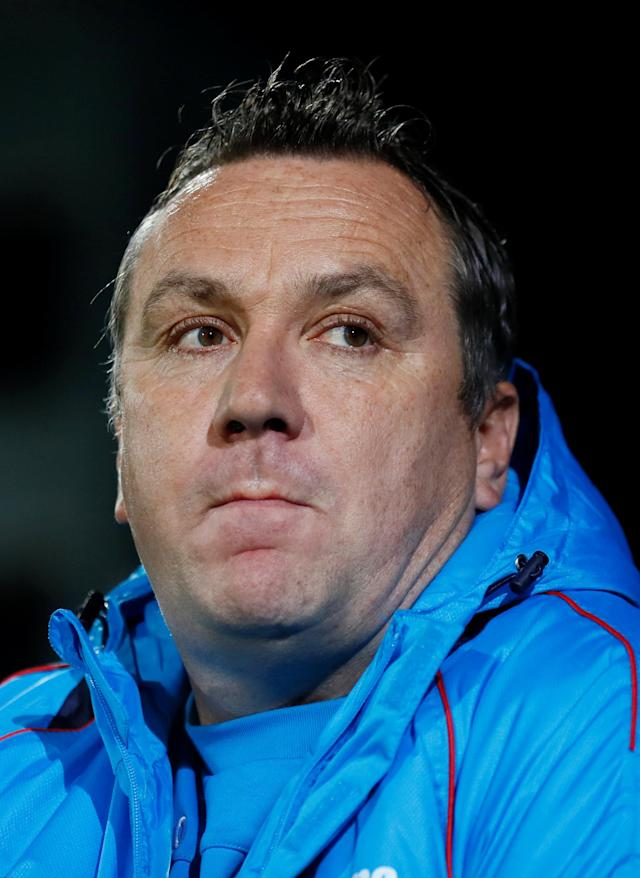 Soccer Football - FA Cup First Round Replay - Tranmere Rovers vs Peterborough United - Prenton Park, Birkenhead, Britain - November 15, 2017 Tranmere Rovers manager Micky Mellon Action Images/Jason Cairnduff
