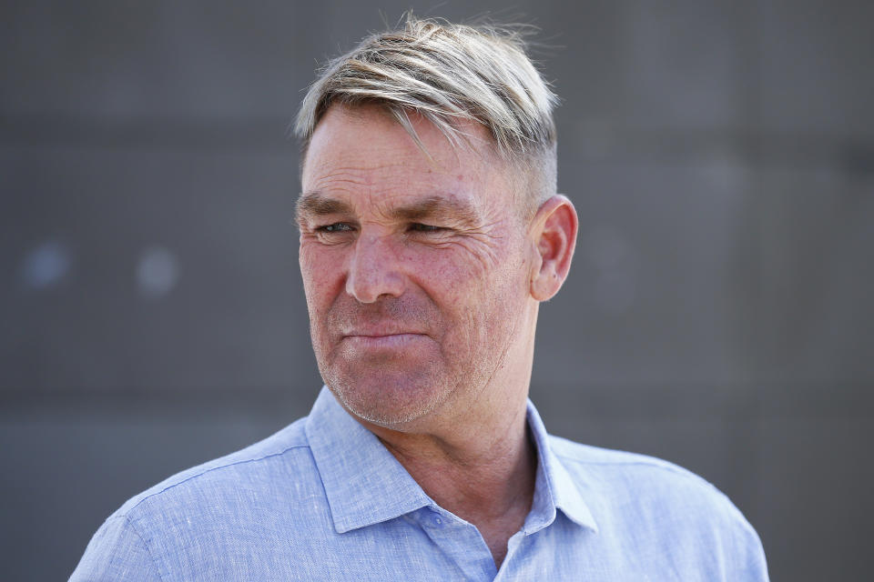 Shane Warne (pictured) has questioned Tim Paine's captaincy during the India series.