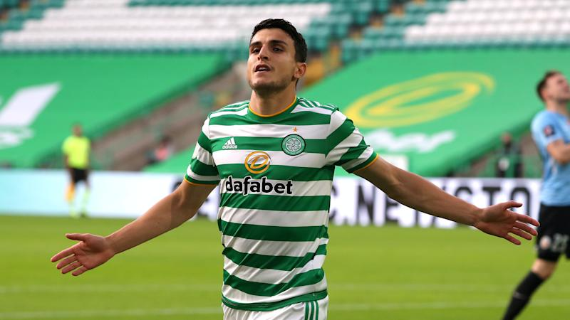 Mohamed Elyounoussi grabs late winner as Celtic edge past Riga