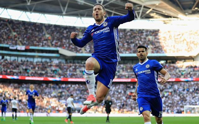 <span>Eden Hazard's goal changed the momentum of the semi-final</span> <span>Credit: Getty Images </span>