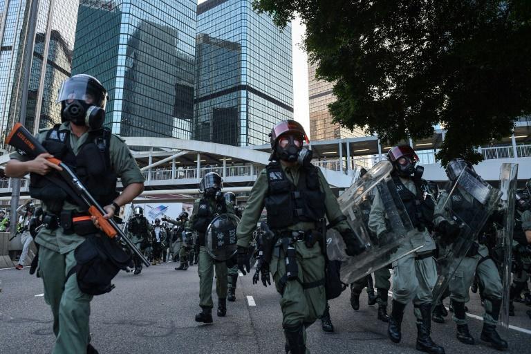 Frequently violent demonstrations have raged in Hong Kong for more than three months