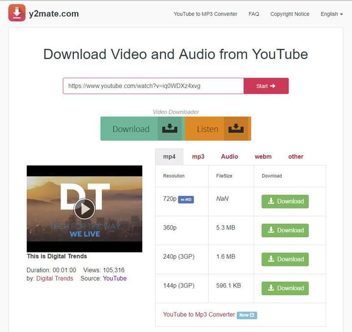 how to download music from youtube y2mate0 1