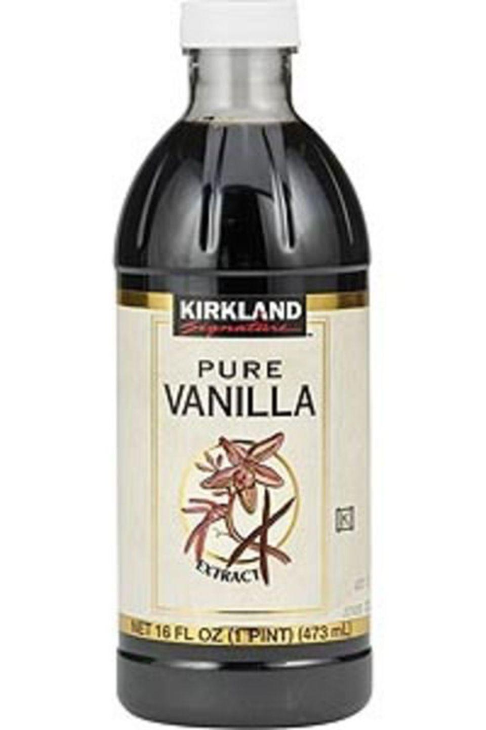 """<p>Sure, it might seem like a lot of <a href=""""https://www.costcobusinessdelivery.com/Pure-Vanilla-Extract%2C-16-oz.product.100284358.html"""" rel=""""nofollow noopener"""" target=""""_blank"""" data-ylk=""""slk:vanilla"""" class=""""link rapid-noclick-resp"""">vanilla</a> extract, but considering there's enough to last you a million years, it's worth it. </p>"""