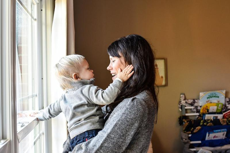 Tess Kossow and son Ferris | Lindsay Chan Photography