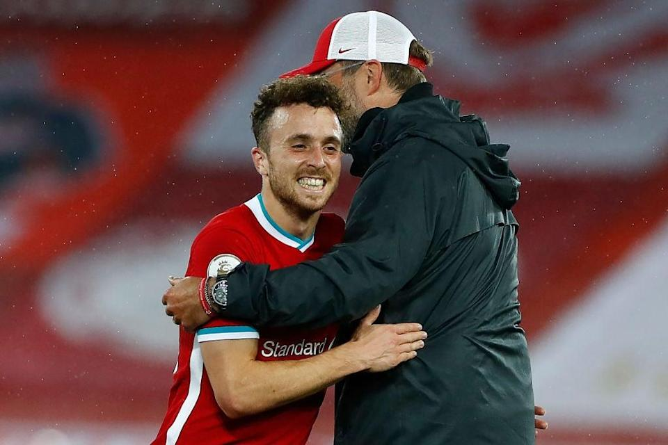 Liverpool signing Diogo Jota (POOL/AFP via Getty Images)