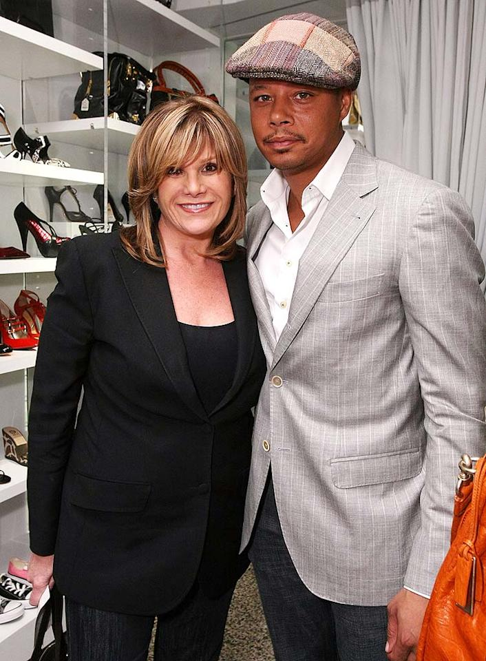 """Terrence Howard showed his support for EIF CEO Lisa Paulsen's charity. Since launching in May, Stand Up To Cancer has raised more than $100 million to fund translational cancer research programs. Alexandra Wyman/<a href=""""http://www.wireimage.com"""" target=""""new"""">WireImage.com</a> - December 10, 2008"""