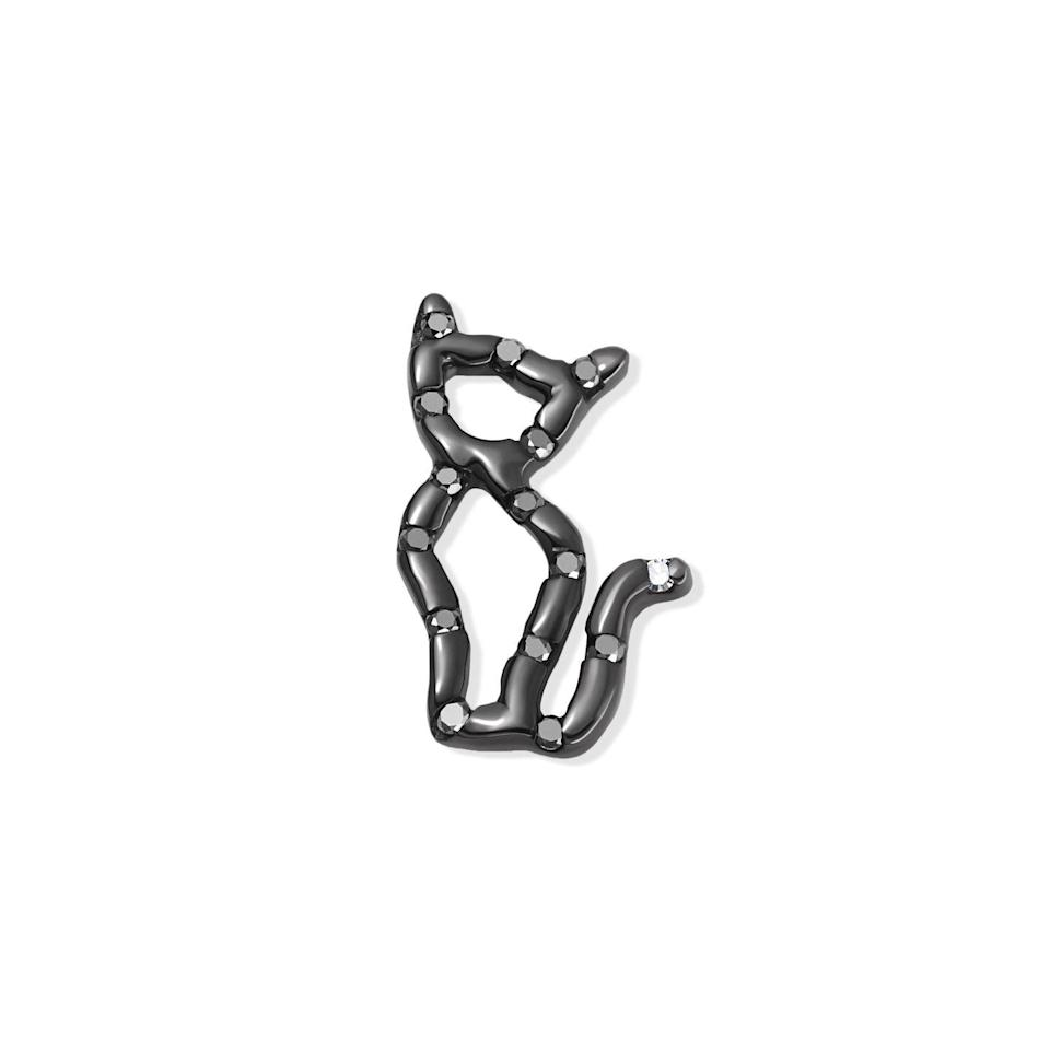 """<p><a class=""""link rapid-noclick-resp"""" href=""""https://www.loquetlondon.com/shop/charms/cat-9-lives.html"""" rel=""""nofollow noopener"""" target=""""_blank"""" data-ylk=""""slk:SHOP NOW"""">SHOP NOW</a> </p><p>This tiny charm was designed by the creative consultant Susan Bender as part of Loquet London's Charms for Change initiative, with all profits from each sale being donated to the charity Women for Women International. Who says black cats are bad news?</p><p>Black gold and diamond charm, £260, Loquet London</p>"""