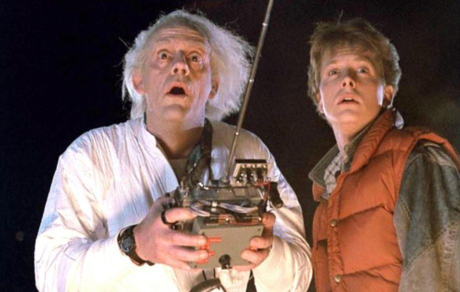 Lloyd and Fox and Back To The Future (Credit: Universal)