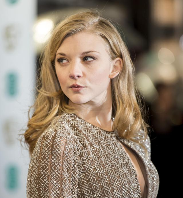 LONDON, ENGLAND - FEBRUARY 10: Natalie Dormer attends the EE British Academy Film Awards at The Royal Opera House on February 10, 2013 in London, England. (Photo by Mark Cuthbert/UK Press via Getty Images)