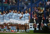 FILE PHOTO: Rugby Union - Rugby Championship - Argentina v New Zealand