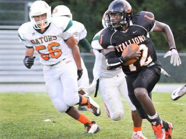 Southwest Onslow quarterback Shak Pershey was found drowned just days before he was set to graduate — Facebook