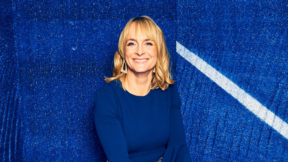 Louise Minchin could be in line to swap the newsroom for the ballroom as a 'Strictly Come Dancing' contestant. (Nicky Johnston/Comic Relief/Getty Images)