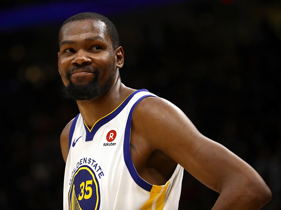 The Warriors are keeping their core intact with Kevin Durant's return. (AP)