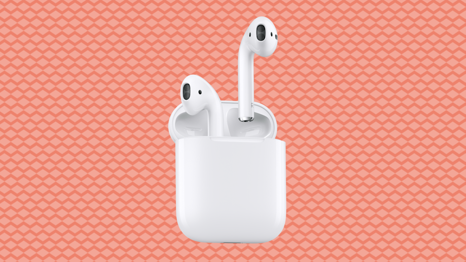 Only $129 for Apple AirPods—save 30 bucks. (Photo: Amazon)