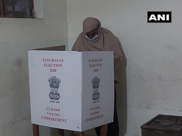 Voting in the eighth and final phase of District Development Council (DDC) elections began on Saturday.