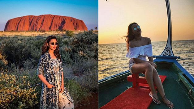 <p>The festive season is right around the corner. If you've just spent the long Diwali weekend at home, there's still New Year's Eve that begs a vacation. And to give you some serious holiday goals we have these 10 Indian actresses and their Instagram. So, if you're wondering where you should be heading to on your next vacation, here's some #TravelInspiration. </p>