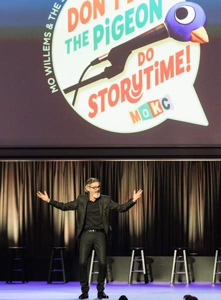Uninvited Pigeon invades author Mo Willems' TV special