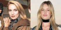 <p>Jerry Hall was already a world renown model by 24 and had made her transition into acting with the '80s film <em>Urban Cowboy. </em>As for Georgia, Jerry's daughter with Mick Jagger, her modeling career began at 16 and she's recently moved on to fashion design.</p>