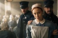 "<p>Another book-inspired-by-a-true-story-series, Margaret Atwood's 1996 award-winning novel about maid Grace Marks comes to life. Transported to 19th-century Canada, a psychiatrist must determine whether or not Grace is responsible for the death of Thomas Kinnear and his housekeeper.</p> <p><a href=""http://www.netflix.com/title/80119411"" class=""link rapid-noclick-resp"" rel=""nofollow noopener"" target=""_blank"" data-ylk=""slk:Watch Alias Grace on Netflix."">Watch <strong>Alias Grace </strong>on Netflix.</a></p>"