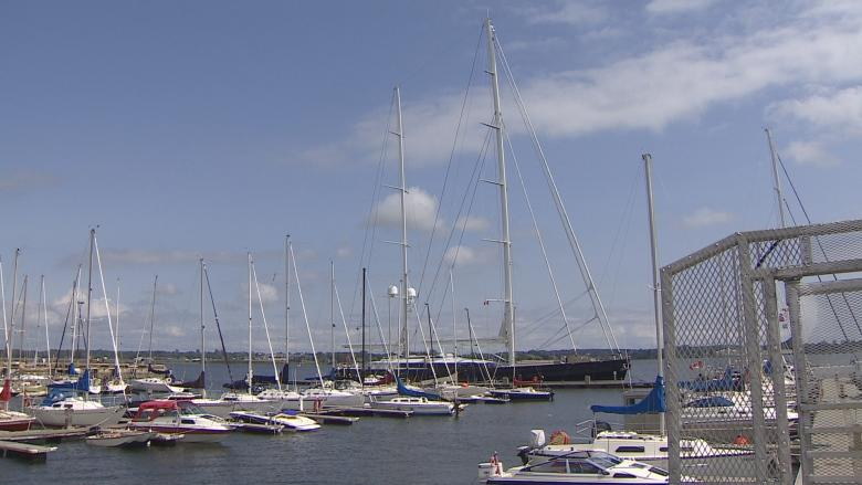 'It's phenomenal': Super yacht attracts attention on Charlottetown waterfront