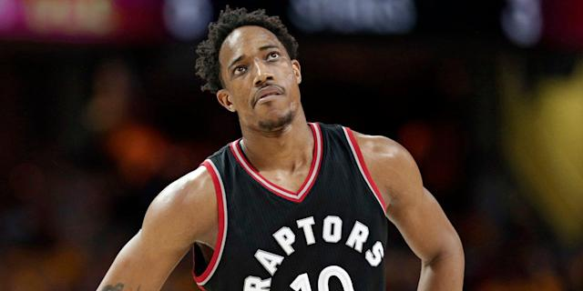 DeMar DeRozan says that Drake consoled him after being suddenly traded from the Raptors