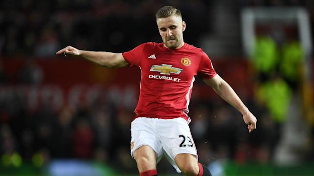 Luke Shaw is desperate to stake his claim at Old Trafford and force his way back into the Manchester United starting XI.
