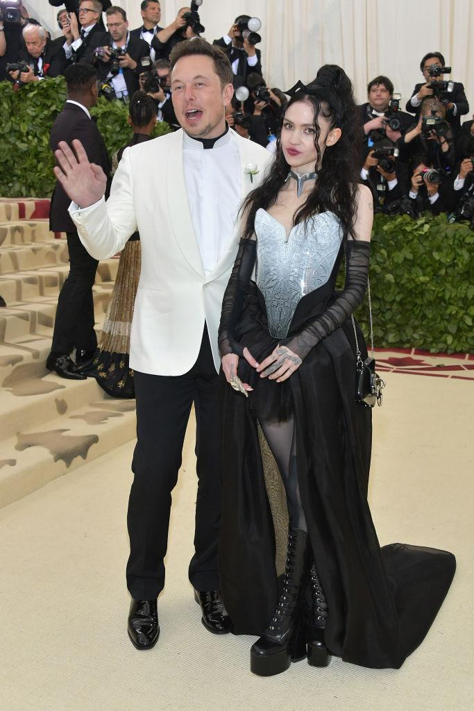 Elon Musk and Grimes dated for three years. (Photo: Neilson Barnard/Getty Images)