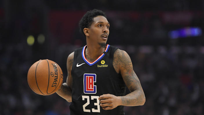 Kendrick Perkins slammed Lou Williams for his strip club visit on Monday morning. (AP/Mark J. Terrill)