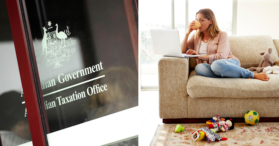 Here's what you can and can't claim on your work from home expenses. (Images: Getty).