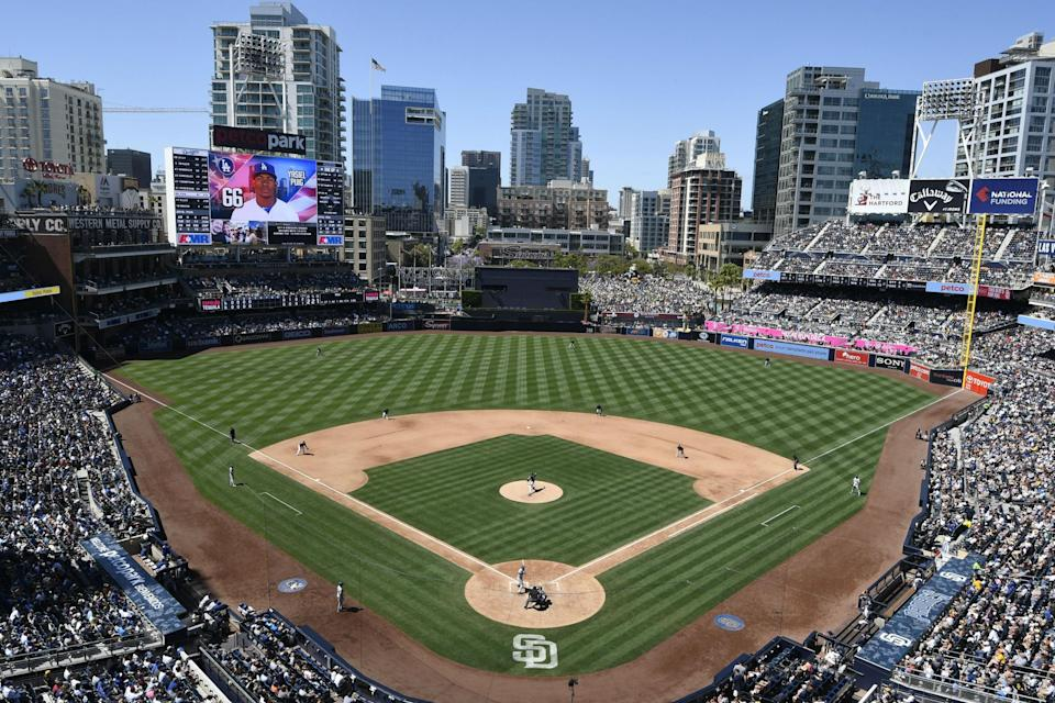 Petco Park, home to the Padres (Getty)