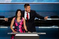 """<p>Throughout her MTV career, Campos spoke openly about her Republican affiliation, so it shouldn't be a surprise that she currently works for Fox News. She's still married to Sean—he's a former Republican congressman—and they welcomed their <a href=""""https://people.com/parents/sean-duffy-rachel-campos-duffy-welcome-daughter-valentina-stellamaris/"""" rel=""""nofollow noopener"""" target=""""_blank"""" data-ylk=""""slk:ninth child together in 2019"""" class=""""link rapid-noclick-resp"""">ninth child together in 2019</a>. </p>"""