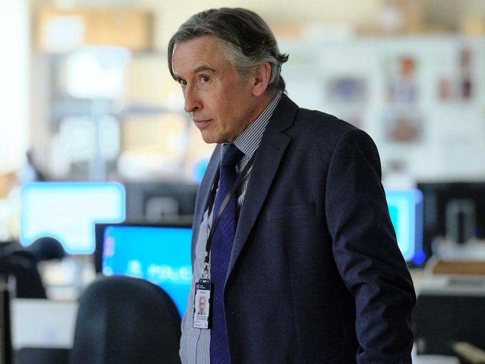 Coogan as Driscoll in 'Stephen' (ITV)